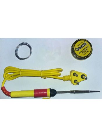 Professional Quality 25w Electronics Soldering Solder Iron With Solder wire & Paste