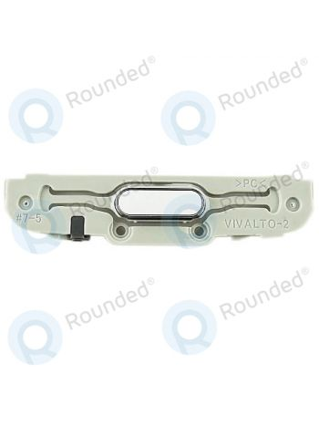 Plastic Home Button For Samsung Galaxy S Duos 3 G313H & SM-G313HU - White