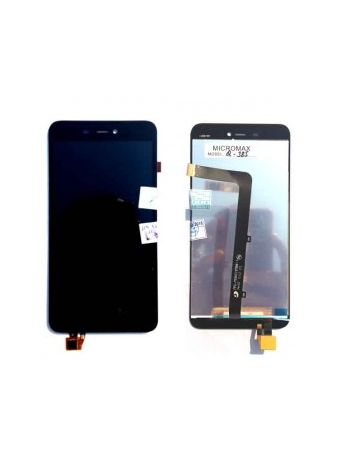 LCD Display Touch Screen Digitizer Glass Combo For Micromax Canvas Spark 3 Q385