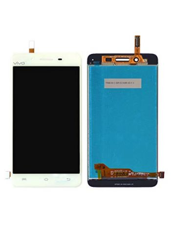 LCD Display With Touch Screen Digitizer Glass Combo For Vivo V3 - White