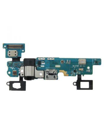 Charging Headphone Jack Back Option Button Flex Cable For Samsung Galaxy E7 SM-E700F