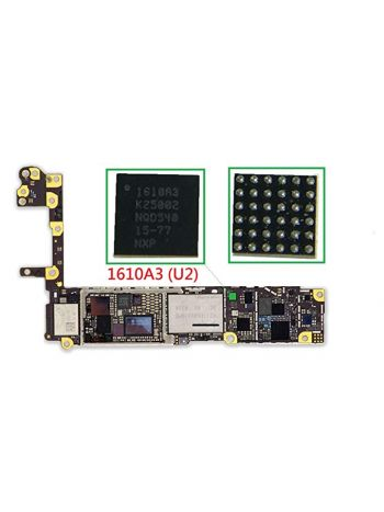 Battery Not Charging or Quick Discharge U2 IC Motherboard Repair For iPhone 6 & 6 Plus