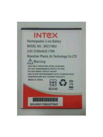 Intex Battery BR2176BU For Intex Aqua Super Mobile 3.8V 2150mAh